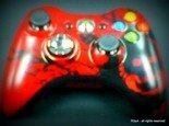 GEARS OF WAR 3 - Limited Edition Microsoft XBOX 360 Controller - WARRANTY
