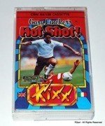 Gary Linker's Hot-Shot - cassete version for Commodore C64 C128 in VGC - TESTED
