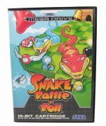 Snake Rattle'n'Roll - Sega Mega Drive - Rare game for SMD