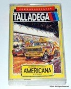 Talladega - boxed cassete version for Commodore C64 / C128 in VGC - TESTED