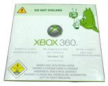 First XBOX 360 The Experience Disc Version 1.0 DVD New Sealed for X360 or kiosk