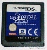 My French Coach 1 - Learn to speak French on Nintendo DS NTR-YIFP-UKV cart only