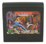 Streets of Rage Sega Game Gear