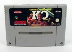 George Foreman's KO Boxing SNES Super Nintendo - PAL Version