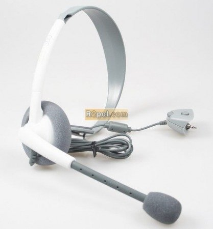 Xbox 360 Official Microsoft Wired Headset - HQ VOICE GUARANTEE - PREMIUM MODEL