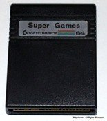 Super Games - Cartridge do Commodore C64