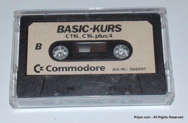 Basic Kurs - oryginał do Commodore C16 Plus4 +4