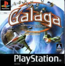 Galaga Destination Earth PSX