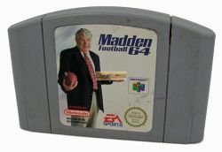 Madden Football 64 N64