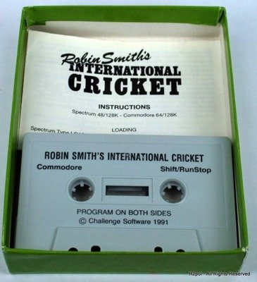 Robin Smith's Cricket - oryginał do Commodore C64