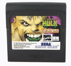 The Incredible Hulk Sega Game Gear