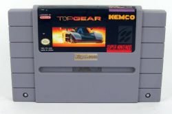 Top Gear SNES NTSC U/C USA Version