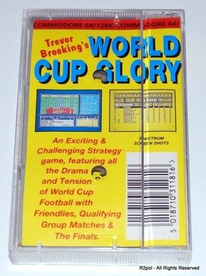 Trevor Brooking's World Cup Glory Commodore C64