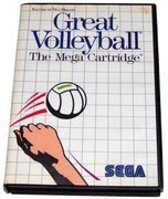 Great Volleyball - Sega Master System