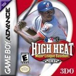 High Heat Major League Baseball 2002 Game Boy Advance, Micro, GBA, DS Lite