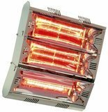 MO-EL Infrared Space Heater Hathor 6000, 6000 Watt, Silver