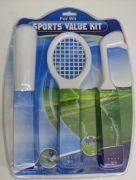 Sports Value Kit - Kij Golfowy + Kij Baseballowy + Rakieta do Tenisa Wii