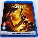 Wanted Blu-Ray - Brand NEW