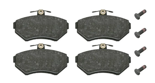 febi bilstein 16336 Brake Pad Set with screws, pack of four