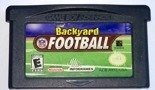 Backyard Football GBA Game Boy Advance NDS DS Lite