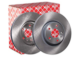 febi bilstein 24384 Brake Disc Set (2 Brake Disc) front, internally ventilated, No. of Holes 5