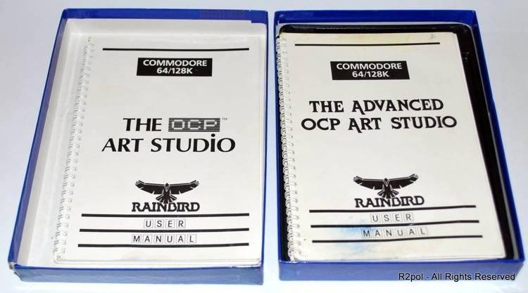 The Advanced OCP Art Studio - boxed - Commodore C64 / C128 in VGC