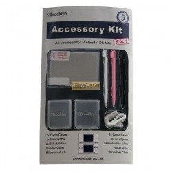 Accessory Kit for NDS Lite 9 in 1 - Brooklyn - for Nintendo DSL