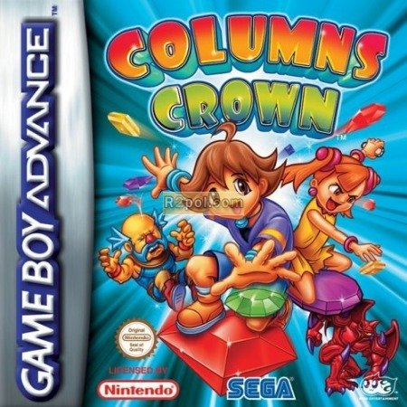 Columns Crown GBA - Bejeweled i Tetris in one! BOXED in VGC, play on GBA or DS