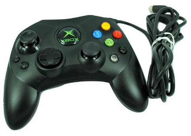 Official Microsoft controller type S for original XBOX 1 console breakaway cable