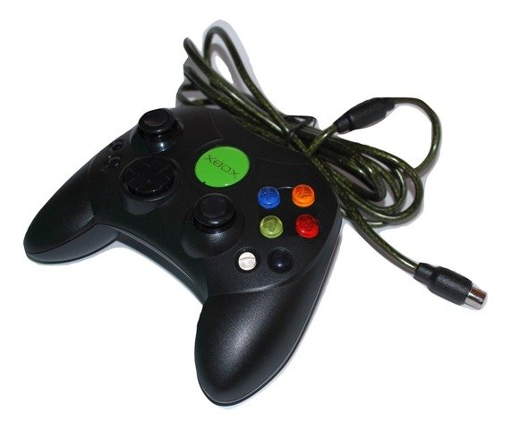 Official Microsoft controller type S for original XBOX console JAPAN version JPN