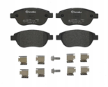 Brembo P61068 Front Disc Brake Pad - Set of 4