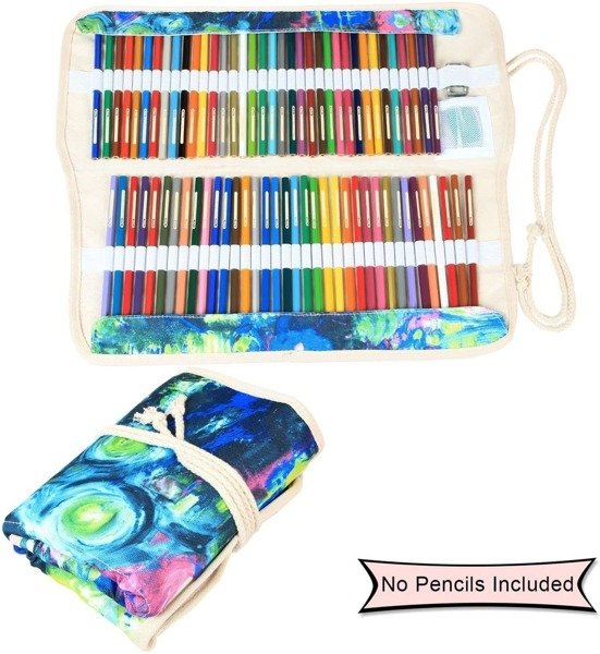 Damero Pencil Wrap Pokrowiec na Kredki Flamastry