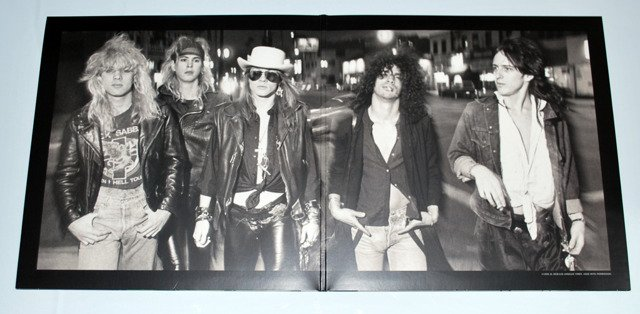 Guns N' Roses ‎– Appetite For Destruction 2LP [VINYL]