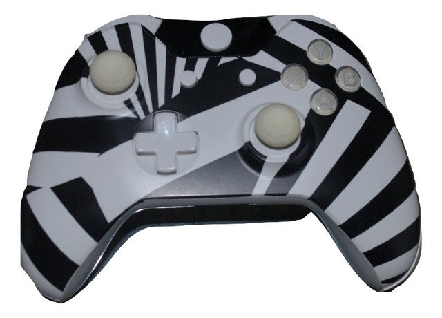 Prototypowy pad ZEBRA do XBOX One beta, prototype