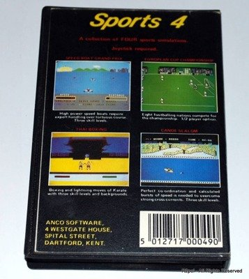 Sports 4 - gra Commodore C16/Plus4