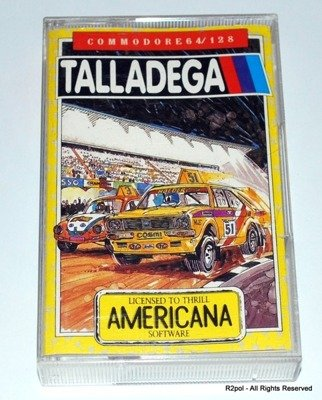 Talladega - oryginał do Commodore C64