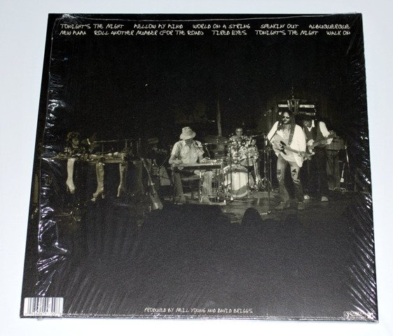 Neil Young ‎– Roxy (Tonight's The Night Live) 2LP [VINYL]