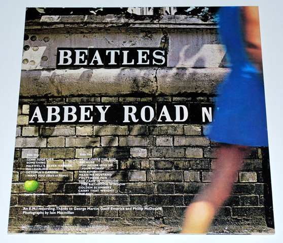The Beatles ‎– Abbey Road LP 180gr [Vinyl]